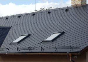 przegląd dachu