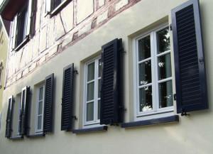 Okiennice aluminiowe harmonijkowe. Fot. Baier.pl