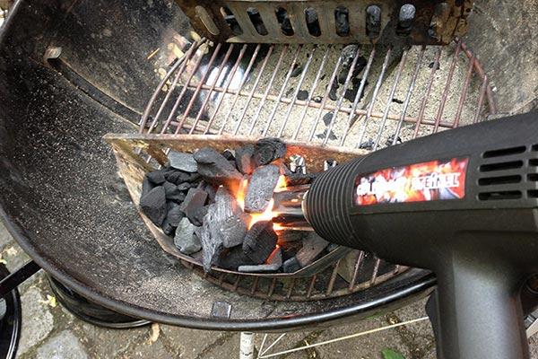 Jak rozpalic grill