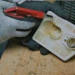 Konserwacja spalinowej pilarki łańcuchowej