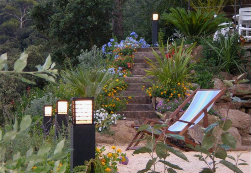 instalacja elektryczna w ogrodzie
