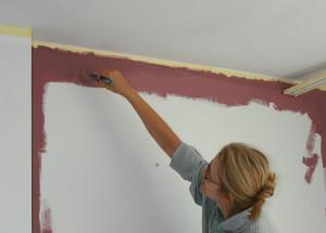 Malowanie ścian pędzel
