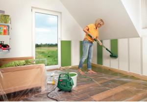 Malowanie_elektryczny wałek Bosch PPR 250