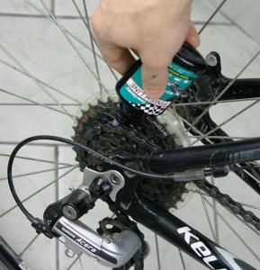 Serwis roweru smarowanie