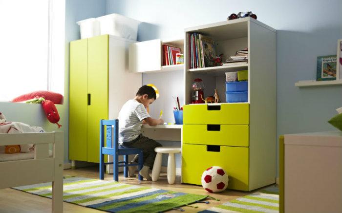 Pok j pierwszoklasisty podpowiadamy jak urz dzi - Ikea scrivanie per camerette ...