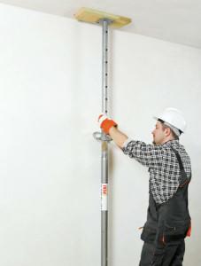 Rozbieramy ściankę działową - podparcie sufitu