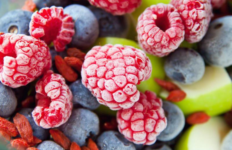 mrozimy owoce