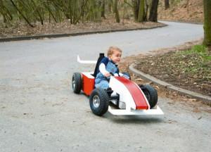 Budujemy bolid F1 dla dzieci DIY Majster