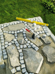 Brukujemy ścieżki w ogrodzie DIY Majster