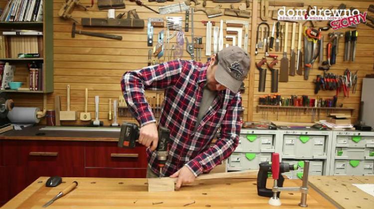 Łączenie drewna na wkręty