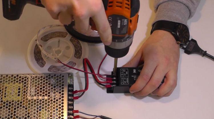 Jak podłączyć ściemniacz w instalacji LED