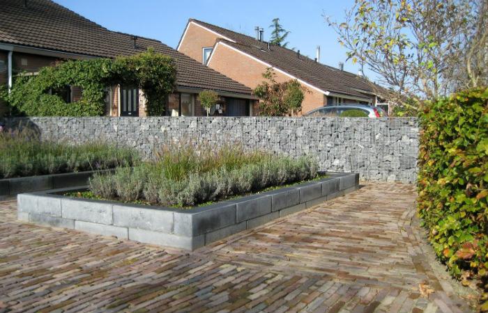 Efektowne gabiony - mury, ogrodzenia