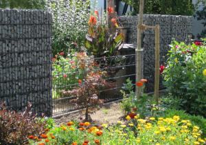 Efektowne gabiony - ogrodzenia
