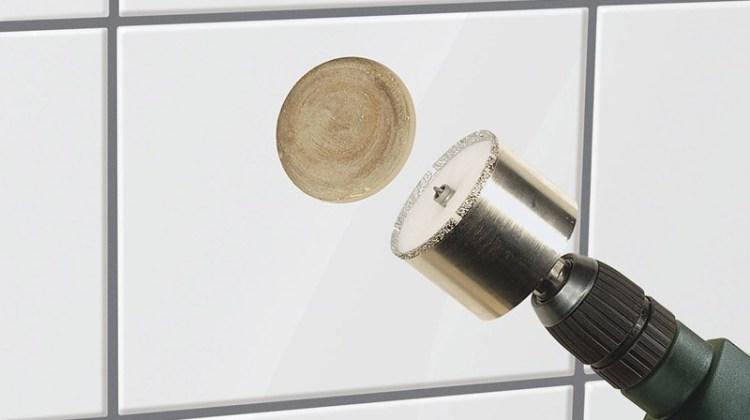 Otwornice diamentowe do płytek