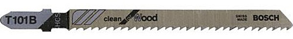 Brzeszczoty do wyrzynarek - do precyzyjnego cięcia drewna Bosch T101B