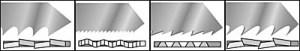 Brzeszczoty do wyrzynarek - geometria zębów