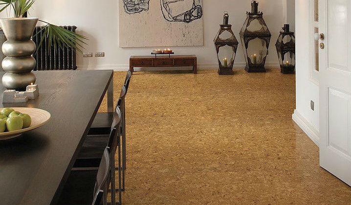 Podłogi korkowe