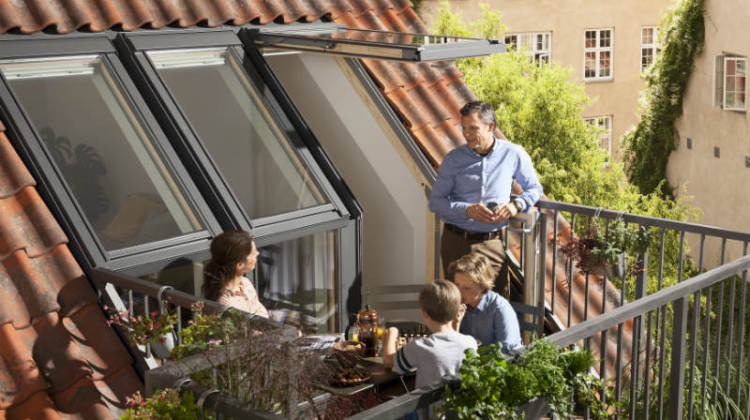balkon na każdym poddaszu