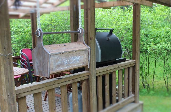 skrzynka na akcesoria do grilla