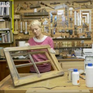 Renowacja starego, drewnianego okna