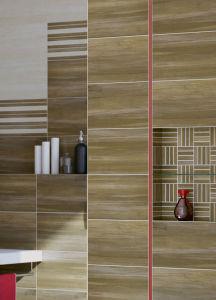 Ożywcze dekory w łazience Cersanit Ambio