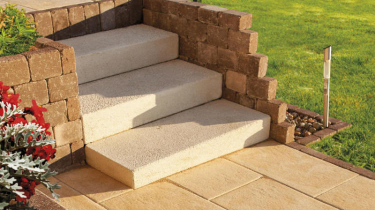 ogrodowe schody