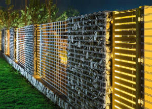 Efektowne ogrodzenia gabionowe