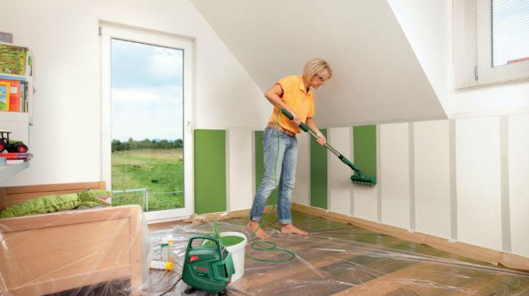 Letni remont mieszkania