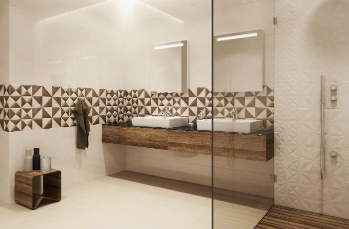 Triki powiększające łazienkę