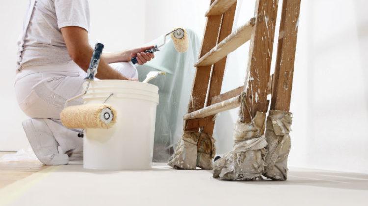 Jak pomalować mieszkanie zimą