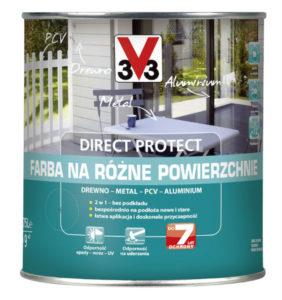 uniwersalna farba Direct Protect V33 do metalu, drewna czy PCV