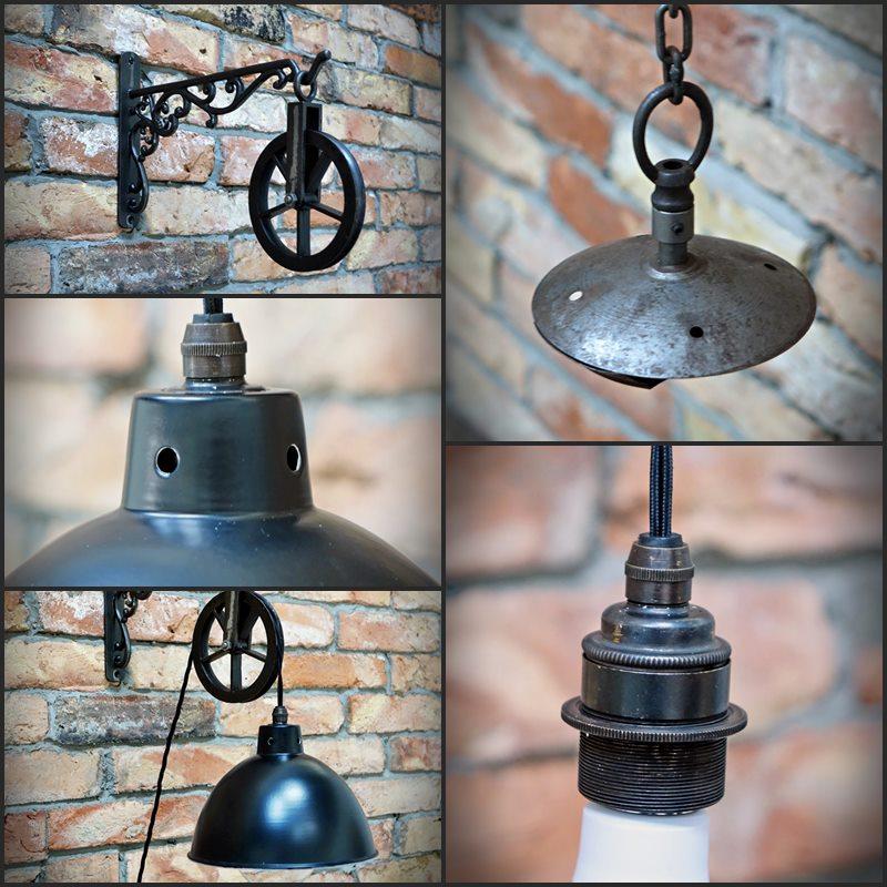 Rustykalne lampy
