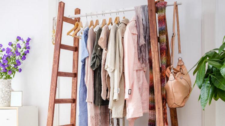 Garderoba z drabin