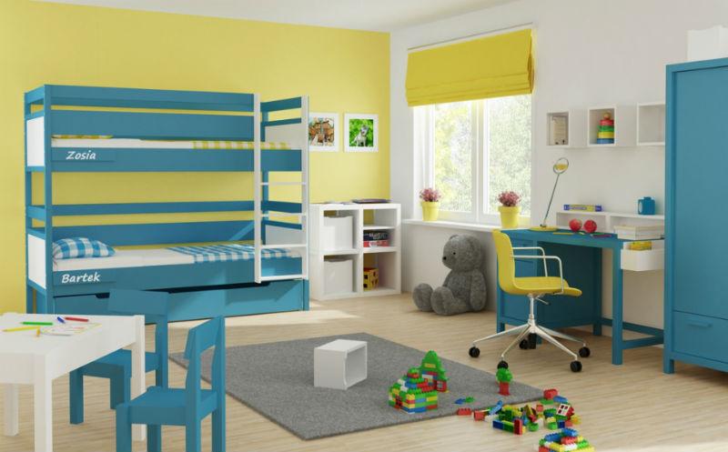 Łóżka piętrowe Vossti