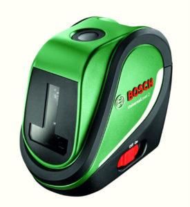 Wszechstronne lasery krzyżowe dla majsterkowiczów: UniversalLevel 2 i UniversalLevel 3 firmy Bosch