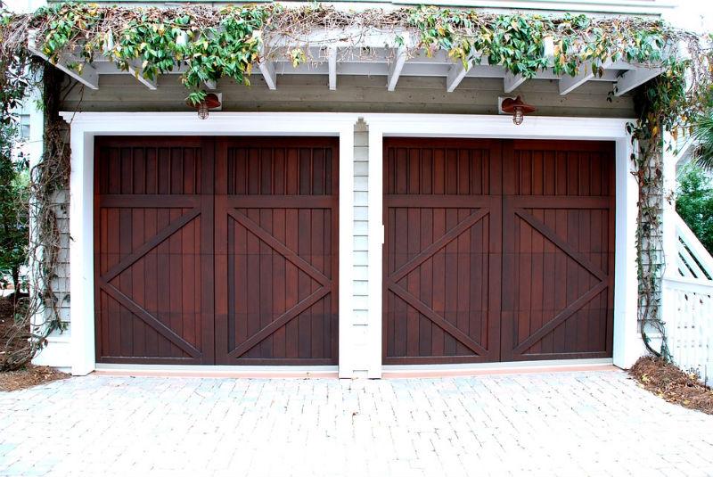 drzwi garażowe rozwieralne