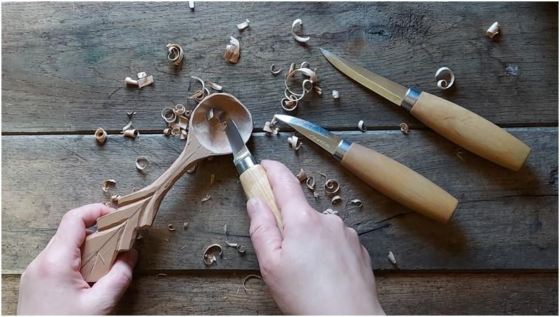 Samouczek rzeźbiarski - drewniana łyżka