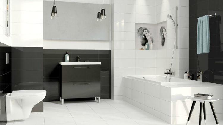 Kolor czarny, tylko pozornie ryzykowny, może być wspaniałym narzędziem przy tworzeniu łazienkowej aranżacji. Umiejętnie użyty, pozwoli urządzić łazienkę z klasą.